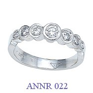 Diamond Anniversary Ring - ANNR 022