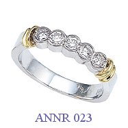 Diamond Anniversary Ring - ANNR 023