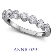 Diamond Anniversary Ring - ANNR 029