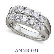 Diamond Anniversary Ring - ANNR 031