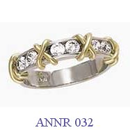 Diamond Anniversary Ring - ANNR 032