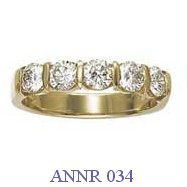 Diamond Anniversary Ring - ANNR 034