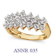 Diamond Anniversary Ring - ANNR 035
