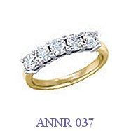 Diamond Anniversary Ring - ANNR 037