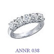 Diamond Anniversary Ring - ANNR 038