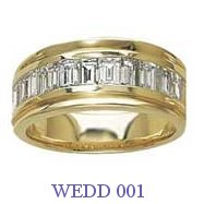 Diamond Wedding Ring - WEDD 001