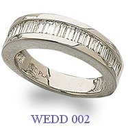 Diamond Wedding Ring - WEDD 002