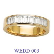 Diamond Wedding Ring - WEDD 003