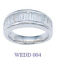 Diamond Wedding Ring - WEDD 004