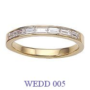 Diamond Wedding Ring - WEDD 005
