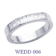 Diamond Wedding Ring - WEDD 006