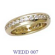 Diamond Wedding Ring - WEDD 007
