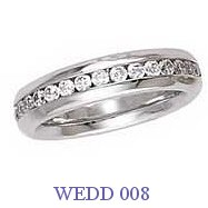 Diamond Wedding Ring - WEDD 008