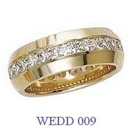 Diamond Wedding Ring - WEDD 009