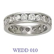Diamond Wedding Ring - WEDD 010