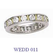 Diamond Wedding Ring - WEDD 011