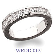 Diamond Wedding Ring - WEDD 012