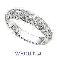 Diamond Wedding Ring - WEDD 014