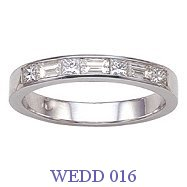Diamond Wedding Ring - WEDD 016