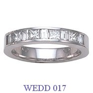 Diamond Wedding Ring - WEDD 017