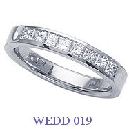 Diamond Wedding Ring - WEDD 019