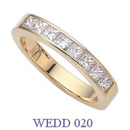 Diamond Wedding Ring - WEDD 020