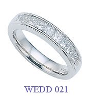 Diamond Wedding Ring - WEDD 021