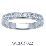 Diamond Wedding Ring - WEDD 022