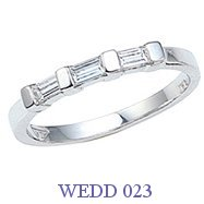 Diamond Wedding Ring - WEDD 023