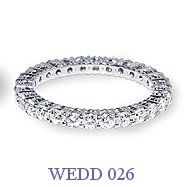 Diamond Wedding Ring - WEDD 026
