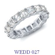 Diamond Wedding Ring - WEDD 027