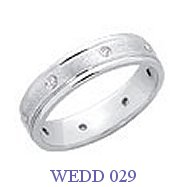 Diamond Wedding Ring - WEDD 029