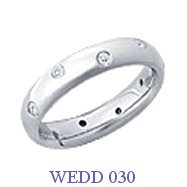 Diamond Wedding Ring - WEDD 030