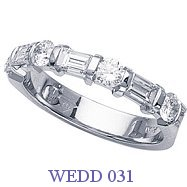 Diamond Wedding Ring - WEDD 031