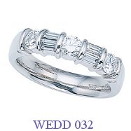 Diamond Wedding Ring - WEDD 032