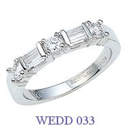 Diamond Wedding Ring - WEDD 033