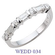 Diamond Wedding Ring - WEDD 034