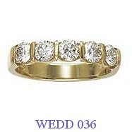 Diamond Wedding Ring - WEDD 036