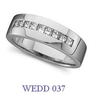 Diamond Wedding Ring - WEDD 037