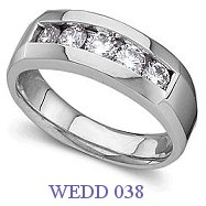 Diamond Wedding Ring - WEDD 038