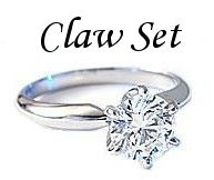 Diamond Claw Set Rings - Diamond Prong Set Rings