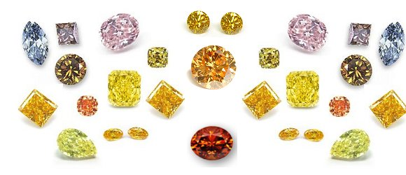 hue fancy scale illustration and color colored tone saturation grading chart diamond