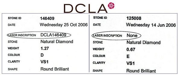DCLA Laser Inscription